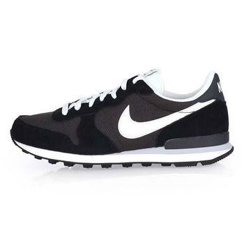 【NIKE】INTERNATIONALIST 男運動休閒鞋-慢跑 路跑 黑白