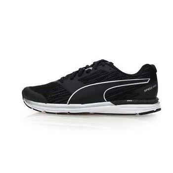 【PUMA】SPEED 300 IGNITE NIGHTCAT 男慢跑鞋-反光 黑銀