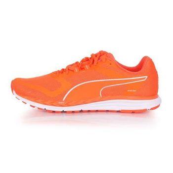 【PUMA】SPEED 500 IGNITE NIGHTCAT 男慢跑鞋-反光 亮橘銀