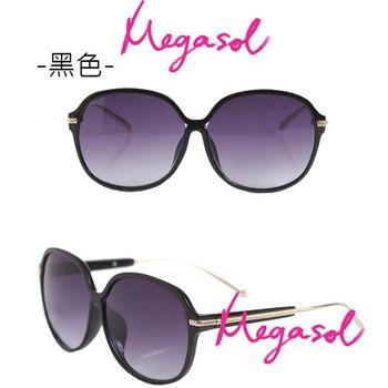 【MEGASOL】寶麗萊UV400偏光太陽眼鏡(MS2113)
