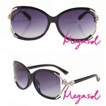 【MEGASOL】寶麗萊UV400偏光太陽眼鏡(MS1558)