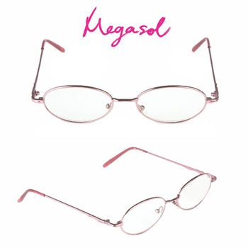 【MEGASOL】抗藍光UV400老花眼鏡(經典優雅款-8174)