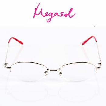 【MEGASOL】抗藍光UV400老花眼鏡(經典氣質款-1342)