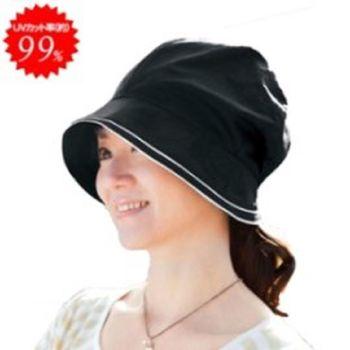 日本COGIT純棉髮型不變形小臉UV帽