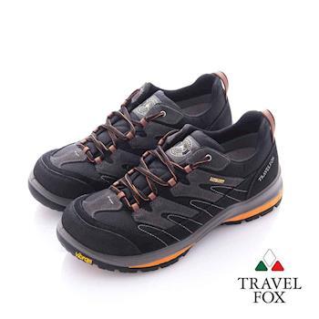 Travel Fox (女) 虎爪 Vibram安全大底登山越野運動鞋- 棕灰