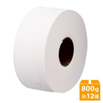 百吉牌 大捲筒衛生紙(800gx12捲/箱)
