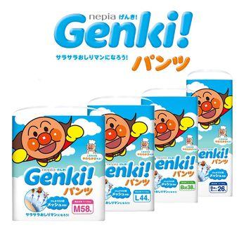 【單包】日本境內 Nepia Genki! 麵包超人空氣感 拉拉褲