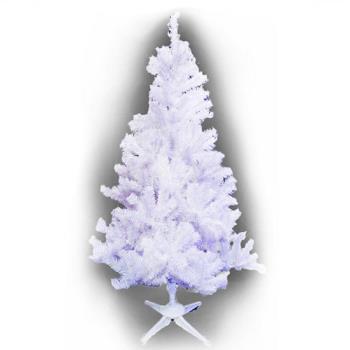 台製豪華型5尺/5呎(150cm)夢幻白色聖誕樹 裸樹(不含飾品不含燈)