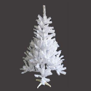 台製豪華型4尺/4呎(120cm)夢幻白色聖誕樹 裸樹(不含飾品不含燈)