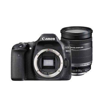 【Canon】EOS 80D 單機身組(公司貨)+18-200mm (平輸)