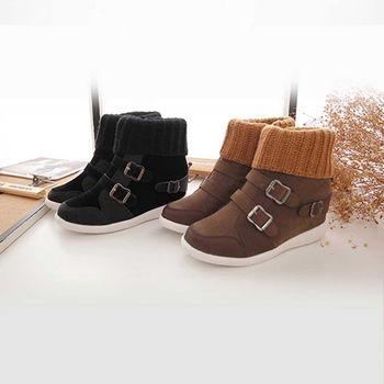 《DOOK》保暖襪套造型靴