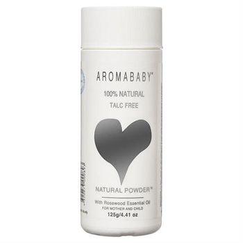 【澳洲 Aromababy】天然玉米爽身粉(125g X 1罐 花梨木精油)
