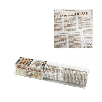 日本製 包裝蠟紙 (報紙白色) 18CM 40入