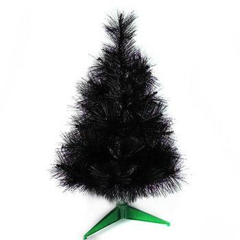 台灣製3尺/3呎(90cm)特級黑色松針葉聖誕樹裸樹 (不含飾品)(不含燈)