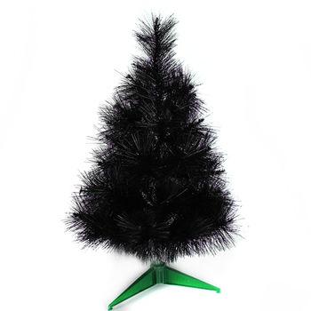 台灣製2尺/2呎(60cm)特級黑色松針葉聖誕樹裸樹 (不含飾品)(不含燈)
