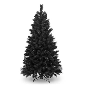 台製豪華型8尺/8呎(240cm)時尚豪華版黑色聖誕樹 裸樹(不含飾品不含燈)