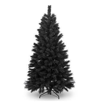 台製豪華型6尺/6呎(180cm)時尚豪華版黑色聖誕樹 裸樹(不含飾品不含燈)