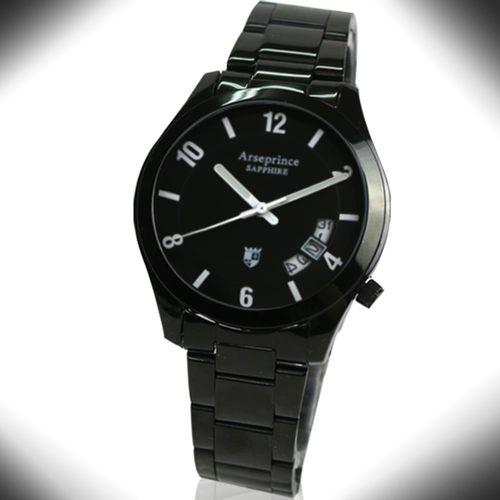 【Arseprince】義式幻影時尚中性錶-白色
