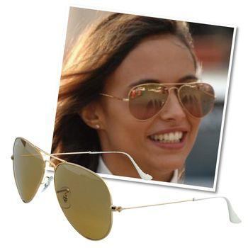 【Ray-Ban 雷朋】飛官太陽眼鏡#強化玻璃鏡片-大版 3025-001/3K-62