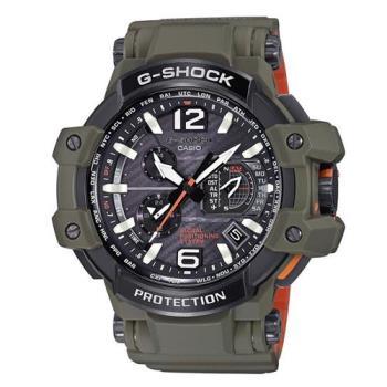 G-SHOCK軍事風格飛行概念GPS電波錶 GPW-1000KH-3