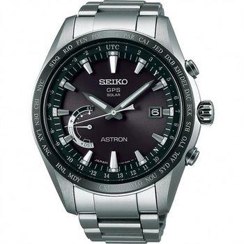 SEIKO 精工 ASTRON GPS 鈦衛星太陽能電波腕錶-45mm 8X22-0AG0D(SSE085J1)