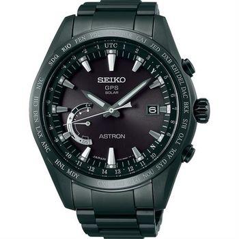 SEIKO 精工 ASTRON GPS 鈦衛星太陽能電波腕錶-45mm 8X22-0AG0SD(SSE089J1)