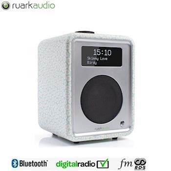 【英國Ruarkaudio】 桌上型無線音響喇叭R1 Mk3 (限量花布版)