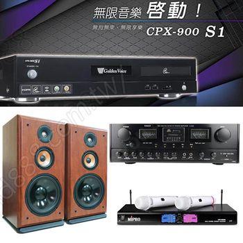 Golden Voice 電腦伴唱機 金嗓公司出品 CPX-900 S1+A-320+PS-910+MR-198