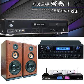 Golden Voice 電腦伴唱機 金嗓公司出品 CPX-900 S1+PMA-328+PS-910+MR-198
