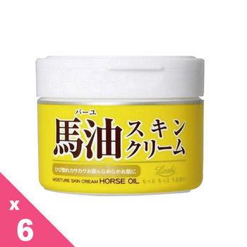 日本北海道 LOSHI 馬油護膚霜 (220g)  6入組