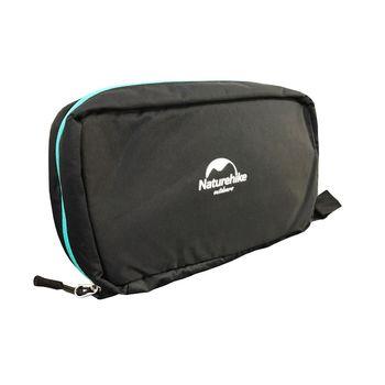 PUSH!旅遊用品防水防撕裂盥洗用具包便攜出差洗簌牙刷包S41-2斜紋黑色