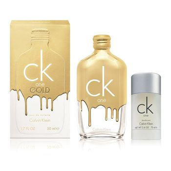 (加1元多一件)Calvin Klein CK ONE GOLD 中性淡香水2016限量版100ml送CK ONE體香膏75g