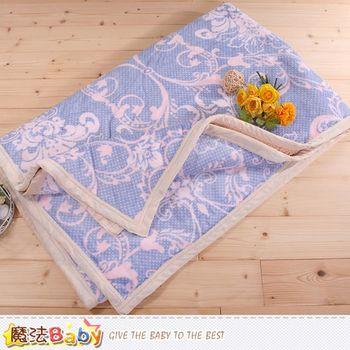 魔法Baby 頂級厚款法蘭絨毛毯150x200cm法蘭絨+羊羔絨毛毯~w65002