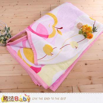 魔法Baby 頂級厚款法蘭絨毛毯150x200cm法蘭絨+羊羔絨毛毯~w65001