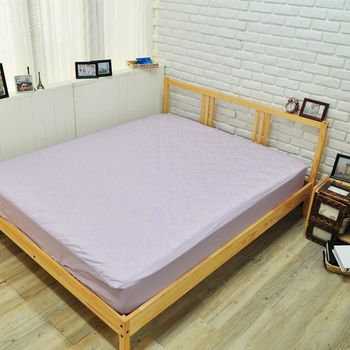 【NATURALLY JOJO】粉嫩漾彩系列保潔墊-床包雙人