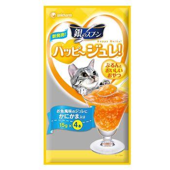 銀湯匙 快樂肉凍蟹肉風味(4條×10包)
