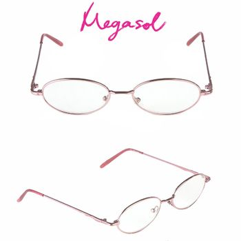 【MEGASOL】抗藍光UV400老花眼鏡(經典優雅款-1342)