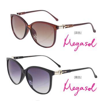 【MEGASOL】寶麗萊UV400偏光太陽眼鏡(MS1669)
