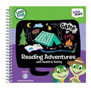 美國【LeapFrog 跳跳蛙】LeapStart Sr.全英兒童行動學習書籍 兒童4-閱讀探險隊