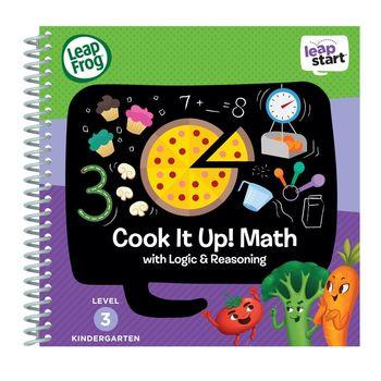 美國【LeapFrog 跳跳蛙】LeapStart Sr.全英兒童行動學習書籍 兒童2- 烹飪學數數