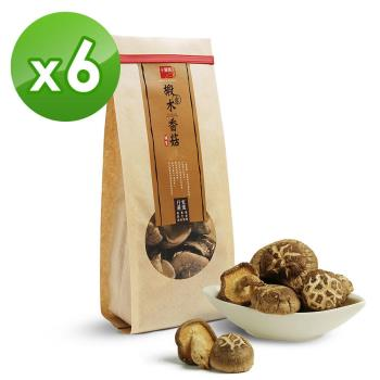 【十翼饌】上等埔里椴木香菇 (120g)x6包