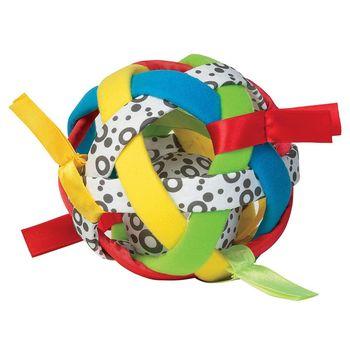 美國Manhattan Toy-五彩空心搖鈴球