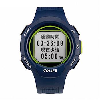 GOLiFE GoWatch 110i 超輕量多功能智慧運動錶 藏青色(悠遊卡錶帶超值組)