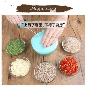魔法拉拉蔬果調理器-贈送多功能料理砧板剪刀