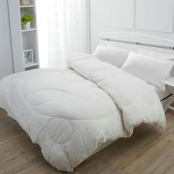 《dreamerSTYLE》100%澳洲純羊毛緹花被 (一被二舒枕組)