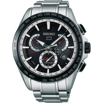 SEIKO ASTRON GPS衛星電波腕錶-黑/45mm 8X53-0AD0D(SSE051J1)