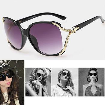 加1元多1件【M.G】韓系潮款抗UV偏光女款華貴CoCo款太陽眼鏡(三款式可選)