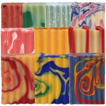 Indigo Wild-Zum Bar天然精油冷製手工羊奶皂(柑橘-遊記)10種