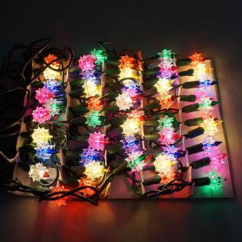 聖誕燈-鑽石燈串 (50燈) (鎢絲燈)(可搭聖誕樹)