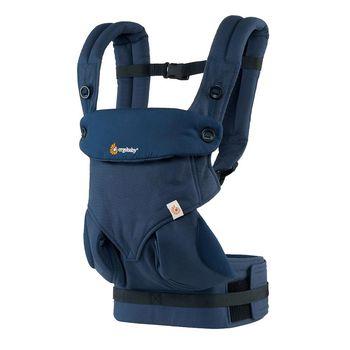 美國Ergobaby爾哥寶寶四向背法嬰童背帶-午夜深藍